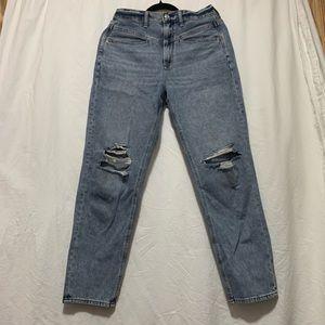 AEO High rise light denim vintage style jeans